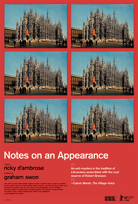 Notes on an Appearance