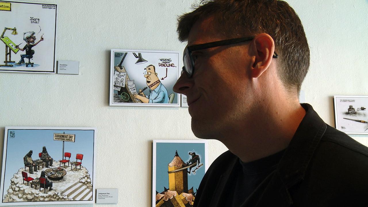Mr. Fish: Cartooning from the Deep…